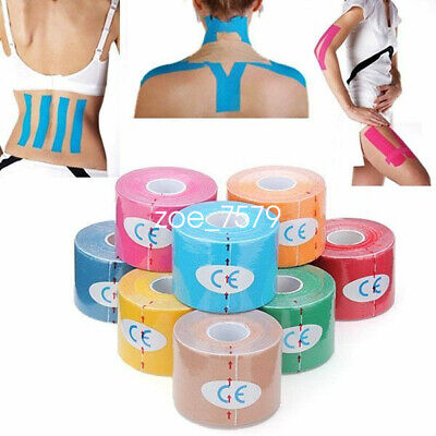 Rolls Kinesiology Tape Sports Physio Muscle Strain Injury Support KT Ares