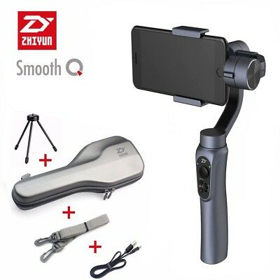Zhiyun Smooth-Q 3-Axis Handheld Gimbal Stabilizer for Smartphone iPhone Gray