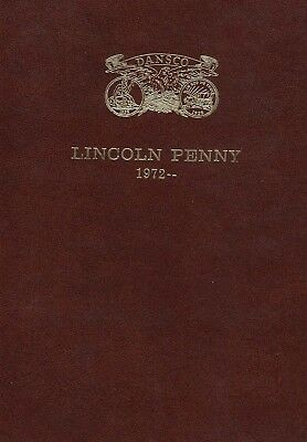 Dansco Coin Folder For US Lincoln Penny Cents 1972-Date 1989 D Mini Album Panels