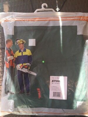 Stihl Green Bib And Brace 0000 884 6444 Size 32/28