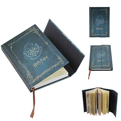 For Harry Potter Blue Vintage Agenda Notebook Notepad Diary Planner Journal Book