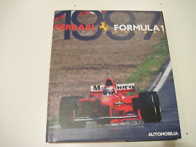 1997 Ferrari Formula 1 Annual, Automobilia  with dust jacket  /  F1