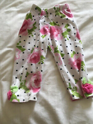 Kate Mack Rose Leggings Pink Skinny Jeans T-shirt 3-4 Years