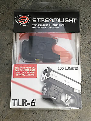 Streamlight 69274 TLR-6 Subcompact Gun Mounted Light /& Red Laser Fits Kahr ARM