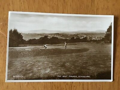 Real Photograph Postcard  - The Golf Course, Dunblane.