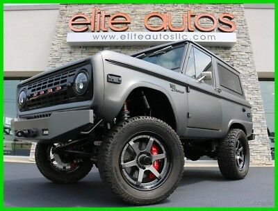 Ford Bronco LIFTED Resto Mod 1970 FORD BRONCO Full Custom Build LOADED WITH ICON PARTS  5.0L V8 Coyote