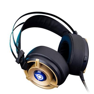 Pro Gaming Headset Mic Stereo Surround 3.5mm Wired Gamer Headphone for PC Laptop