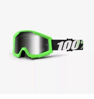 100% The Strata MX Goggles Clear Lens