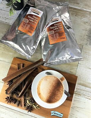 Classic Spiced Chai Latte Tea Original : 2 x 1kg bags + Canister *** Special ...