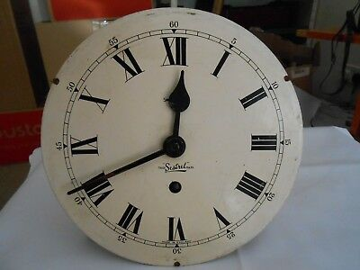 Vintage ''sestrel'' Wall Clock Movement Sold As Seen For Spares Or Repair.
