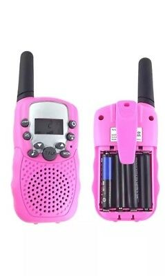 T-388 Walkie Talkies for Kids Up to 3 Km Distance, 22 Channel 2 way Pink