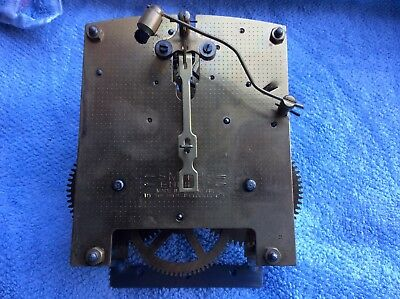 Smiths Enfield Clock Parts, Movement For Spare Repair