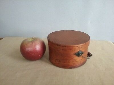 Rare Old Miniature Bail Handled Pantry Box