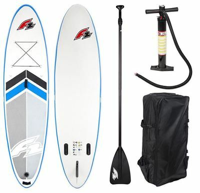 F2 TEAM 10,5 SUP Komplett Set 320 Stand Up Paddle Board aufblasbar f2 SUP 18/19