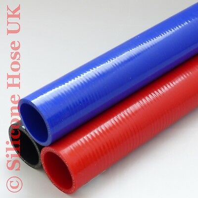 Straight Reinforced Silicone Hose Coolant Water Boost Inlet Pipes - 500mm piece