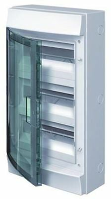 ABB 36 Way Plastic Consumer Unit, 125A, IP65 MISTRAL65