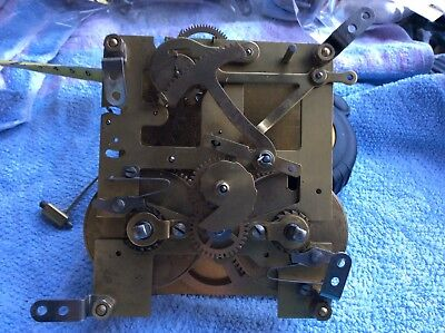 Vintage Perivale Clock Parts, Movement For Spare Repair