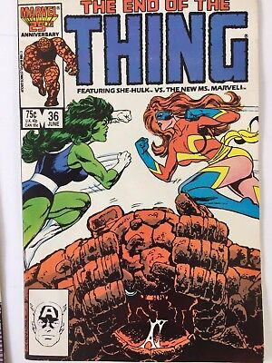 The Thing 36 June 1986 Marvel Comic!