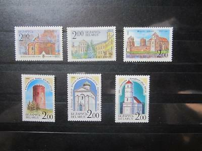 Belarus Weissrussland MNH** 1992 Mi. 8-13 Churches