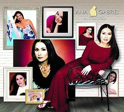 SEALED - Ana Gabriel ANTOLOGIA INCLUDES 8 CD's SHIPPING NOW !