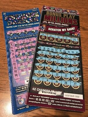 50) CALIFORNIA LOTTERY tickets $20 Second Chance Scratchers