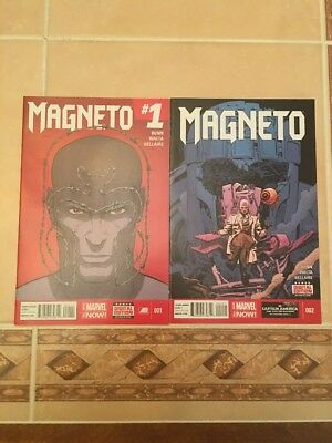 Magneto #1 & 2 from Marvel Comics!! NM!! See Pics!! X-men!!