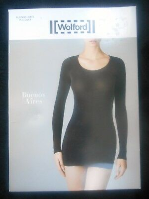Wolford BUENOS AIRES Pullover Gr.S tint / grau NEU OVP NP €150,00