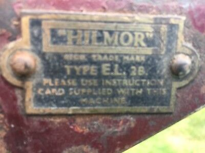 Hilmor Heavy Duty Manual Steel Pipe Tube Bender Collection Only