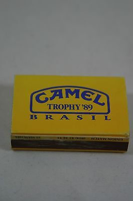 Camel Trophy Match box with matches from Brasil 1989 RARE ITEM!
