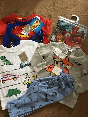 Next,Disney Baby Boy Brand New With Tags Clothes Bundle 9-12 Months