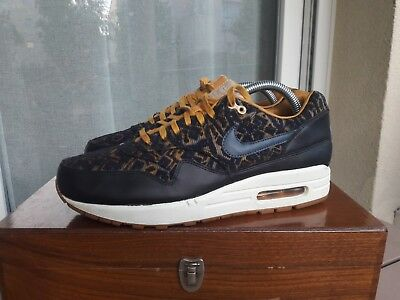 NIKE AIR MAX MAX MAX 1 One V SP Tier Zero Patch Noir UK 8 USA 9 90 95 OG 81aa3b