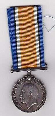 British War Medal 63722 P Quirk 1/7th Lancashire Fusiliers Pte. Territorial WW1