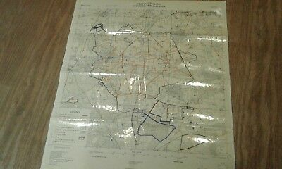 MOD military training area map STANFORD 1976