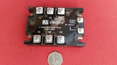 3 Phase Solid State Relay by RS  25A