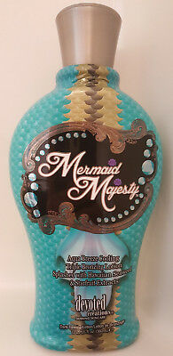 DEVOTED CREATIONS MERMAID MAJESTY Cooling Bronzer Tanning Lotion - 12.25 oz.