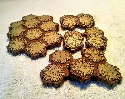 HEROSCAPE TERRAIN LOT Replacement Sand 28 Total Hexes