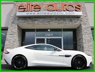 Aston Martin Vanquish Carbon 2016 ASTON MARTIN VANQUISH Carbon Coupe V12 MSRP OVER $300K Rare LOW MILES
