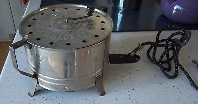 Vintage 1930's-1940's Excel Electric Popcorn Popper. 110 Volts. 660 Watts USA
