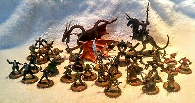 HEROSCAPE Rise Of The Valkyrie Replacement Figure Lot 30 Figures