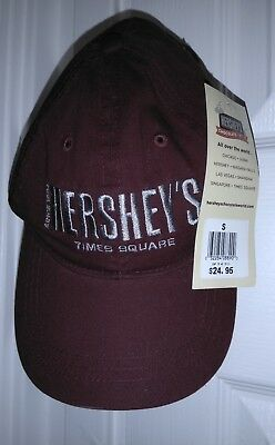 Brand New With Tags Hershey's New York Times Square Baseball Cap Hat One Size
