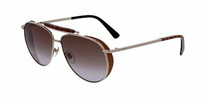 d1a5fba9d3b Authentic MCM Sunglasses MCM119S 722 Shiny Gold Frames Brown Lens 59MM