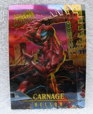 1995 FLEER ULTRA SPIDERMAN TRADING CARD, MASTERPIECES # 2 of 9