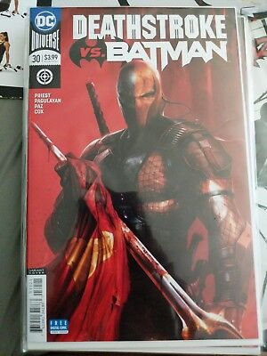 Deathstroke #30 Cover B Francesco Mattina Variant - NEAR MINT NM+ - DC Comics