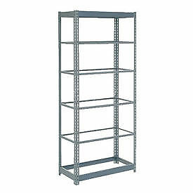 "Boltless Heavy Duty Shelving 48""W  x  24""D  x  60""H, 6 Shelves, No Deck, Lot of"