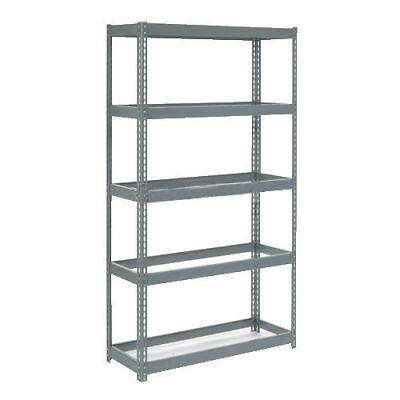 "Boltless Extra Heavy Duty Shelving 48""W x 18""D x 60""H, 5 Shelves, No Deck, Lot"