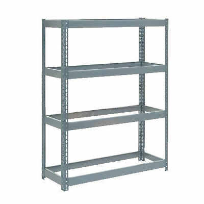 "Boltless Extra Heavy Duty Shelving 48""W x 24""D x 60""H, 4 Shelves, No Deck, Lot"
