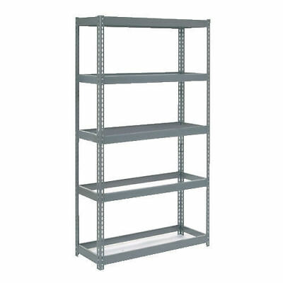 "Boltless Extra Heavy Duty Shelving 48""W x 12""D x 60""H, 5 Shelves, No Deck, Lot"