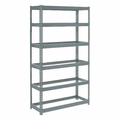 "Boltless Extra Heavy Duty Shelving 48""W x 24""D x 60""H, 6 Shelves, No Deck, Lot"