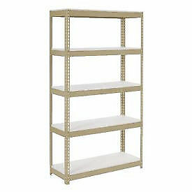 "Boltless Extra Heavy Duty Shelving 36""W x 24""D x 60""H, 5 Shelves, 1500 lbs."