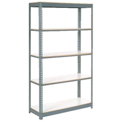 "Boltless Extra Heavy Duty Shelving 36""W x 12""D x 60""H, 5 Shelves, 1500 lbs."